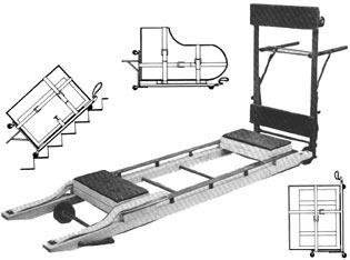 Перевозка рояля и пианино с помощью специальных приспособлений. Вес инструмента влияет на стоимость работы по транспортировке